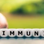 Photo depicting herd immunity versus no immunity